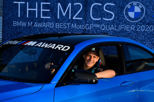 Fabio Quartararo, Petronas Yamaha SRT wins the BMW M Award