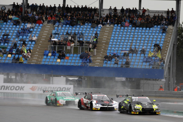 Pietro Fittipaldi, Audi Sport Team WRT, Audi RS 5 DTM, Timo Glock, BMW Team RMG, BMW M4 DTM, Nico Müller, Audi Sport Team Abt Sportsline, Audi RS 5 DTM.