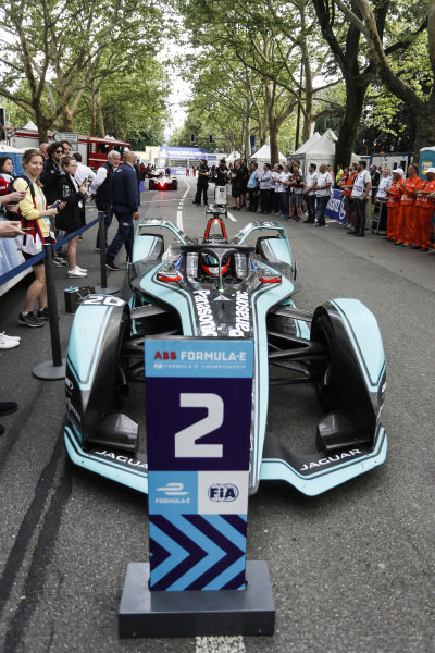 Mitch Evans (NZL), Panasonic Jaguar Racing, Jaguar I-Type 3, 2nd position