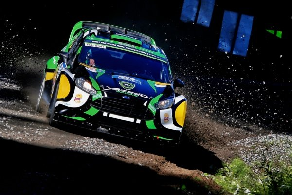 Yazeed Al Rajhi (UAE) / Michael Orr (GBR), Yazeed Racing Ford Fiesta RS WRC at FIA World Rally Championship, Rd8, Neste Oil Rally Finland, Day One, Jyvaskyla, Finland, 29 July 2016.