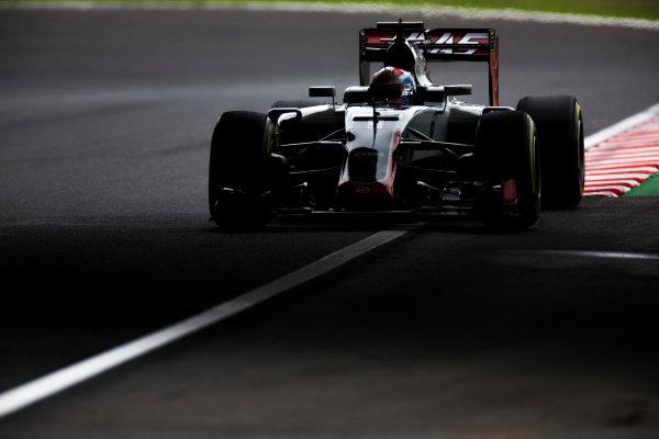 Suzuka Circuit, Japan. Saturday 8 October 2016. Romain Grosjean, Haas VF-16 Ferrari. World Copyright: Sam Bloxham/LAT Photographic ref: Digital Image _SBB9486
