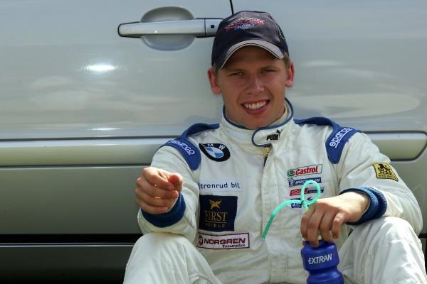 Stian Sorlie (NOR) Fortec.Formula BMW UK Championship, Rockingham, England, 4-5 September 2004.DIGITAL IMAGE.
