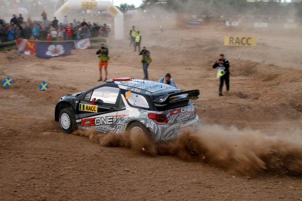 Round 12-Rally Spain. 20th-23th October 2011.Kimi Raikkonen, Citroen WRC, Action.Worldwide Copyright: McKlein/LAT