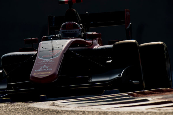 2017 GP3 Series Round 8.  Yas Marina Circuit, Abu Dhabi, United Arab Emirates. Friday 24 November 2017. George Russell (GBR, ART Grand Prix).  Photo: Zak Mauger/GP3 Series Media Service. ref: Digital Image _56I0355