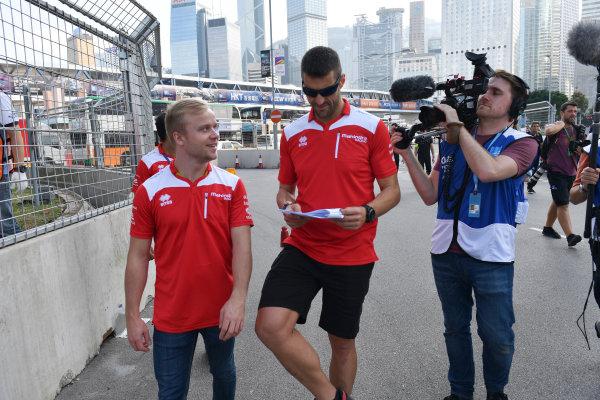 2017/2018 FIA Formula E Championship. Riound 1 - Hong Kong, China. Thursday 21 July 2016. Felix Rosenqvist (SWE), Mahindra Racing, Mahindra M4Electro Photo: Mark Sutton/LAT/Formula E ref: Digital Image DSC_9970