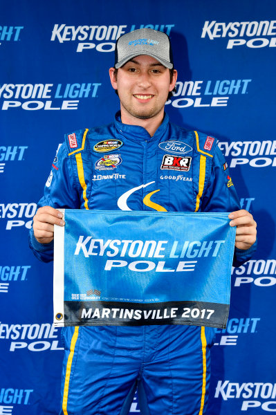 NASCAR Camping World Truck Series  Texas Roadhouse 200 Martinsville Speedway, Martinsville VA USA Saturday 28 October 2017 Chase Briscoe, Cooper Standard Ford F150 wins the pole World Copyright: Rusty Jarrett LAT Images