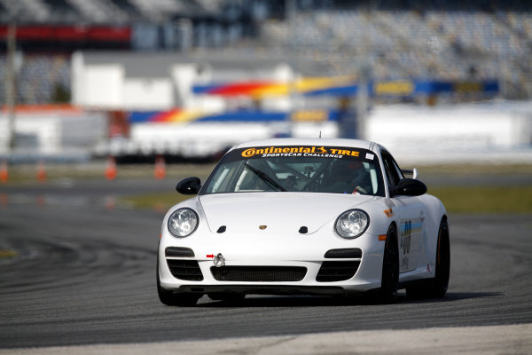 3-5 January, 2014, Daytona Beach, Florida, USA #08, Porsche, 997, Kyle Marcelli, Martin Barkey © 2014, Michael L. Levitt LAT Photo USA
