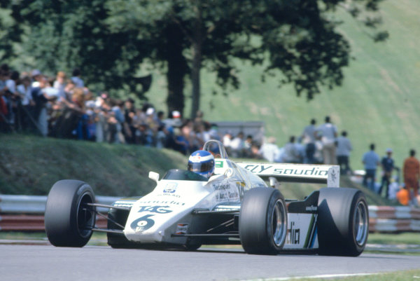 1982 British Grand Prix.Brands Hatch, Kent, Great Britain. 18 July 1982.Keke Rosberg (Williams FW08-Ford Cosworth).World Copyright:LAT Photographic