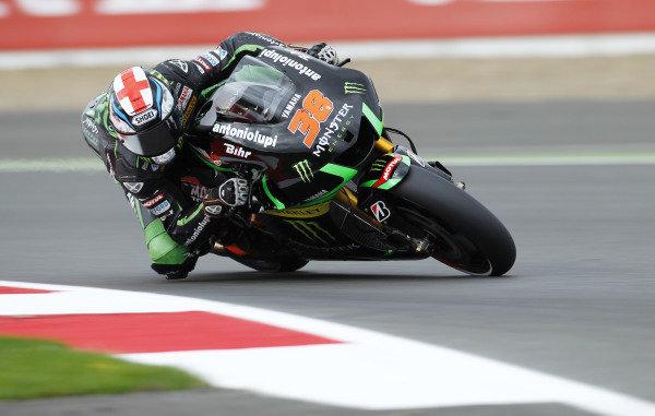 2014 MotoGP Championship  British Grand Prix.  Silverstone, England. 29th - 30st August 2014.  Bradley Smith, Tech 3 Yamaha.  Ref: _W1_5378. World copyright: Kevin Wood/LAT Photographic