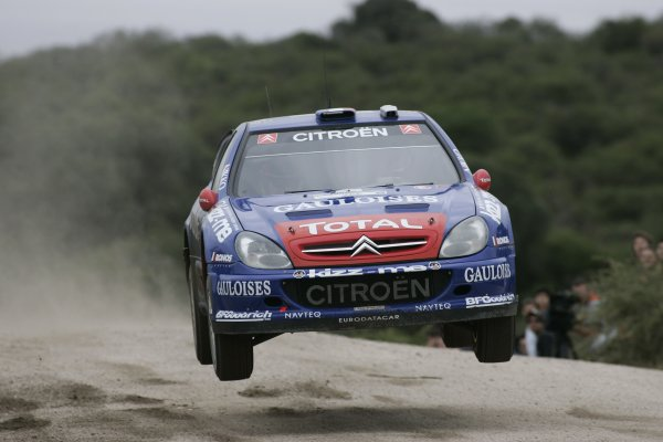 2006 FIA World Rally Champs. Round 6Rally Argentina. 27th-30th April 2006Loeb, Citroen, action.World Copyright: McKlein/LAT