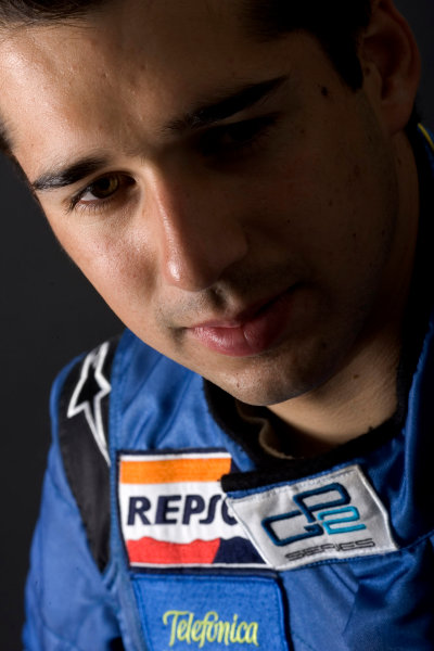 2005 GP2 Drivers Photo Shoot Neel Jani (CH, Racing Engineering). Portrait. 14th June 2005 Paul Ricard,France World Copyright: GP2 Series Ref: Digital Image Only Hi-Res Available on request