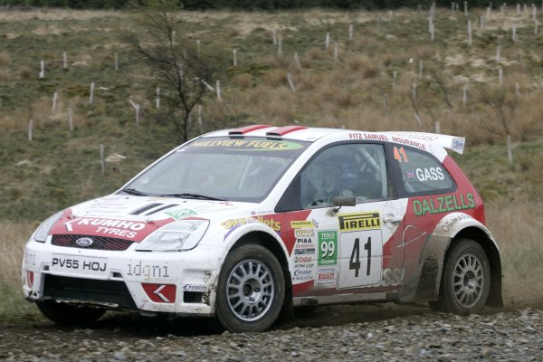 2006 British Rally Championship,Pirelli International Rally, Carlisle 13th-14th May 2006,Gass, World Copyright: Jakob Ebrey/LAT Photographic.