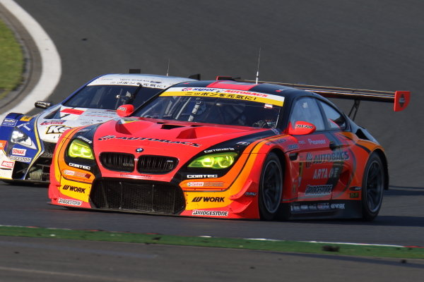 The GT300 winning Arta (Autobas Racing Team Aguri) BMW M6 GT3 of Shinichi Takagi & Sean Walkinshaw.