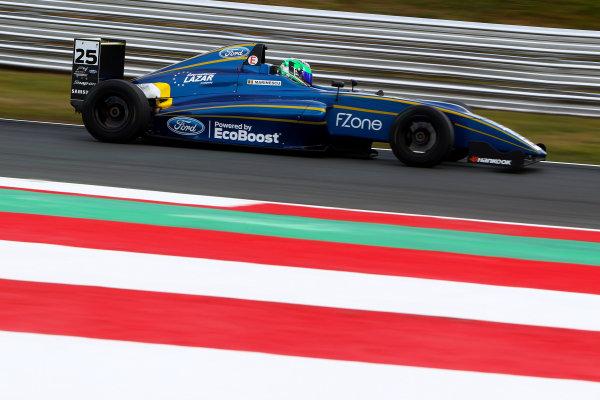 2016 British Formula 4 Championship, Snetterton, Norfolk. 29th - 31st July 2016. Alexandra Marinescu (ROM) Richardson Racing Ford British F4. World Copyright: Ebrey / LAT Photographic.