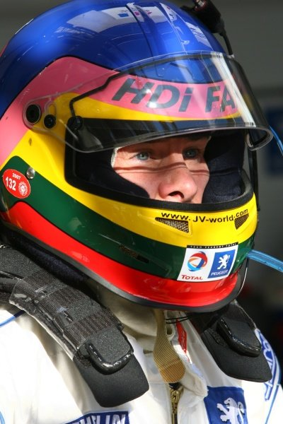 Jacques Villeneuve (CDN) Team Total Peugeot  Le Mans 24 Hours, Circuit du Sarthe, France, 16 -17 June 2007  DIGITAL IMAGE