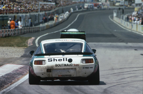 Le Mans, France. 18-19 June 1983.Raymond Boutinaud/Patrick Gonin/Alain le Page (Porsche 928S), Not Classified, action. World Copyright: LAT Photographic.Ref:  83LM06