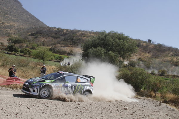 Round 2, Rally of Mexico, 3rd-6th March 2011Kenn Block, Alex Gelsomino, Ford Fiesta RS WRC, Action, Worldwide Copyright: McKlein/LAT