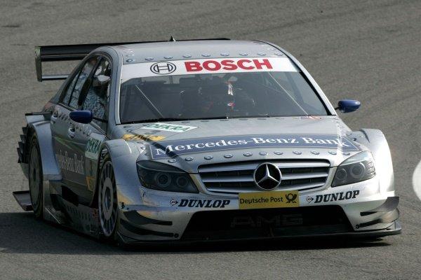Bruno Spengler (CDN) Mercedes-Benz Bank AMG Mercedes  DTM, Rd 1, Hockenheim, Germany, 12-13 April 2008.