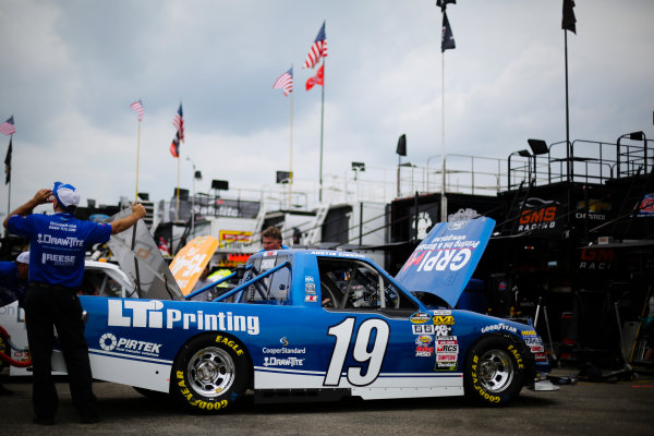 NASCAR Camping World Truck Series Buckle Up In Your Truck 225 Kentucky Speedway, Sparta, KY USA Wednesday 5 July 2017 Austin Cindric, LTi Printing Ford F150 World Copyright: Barry Cantrell LAT Images