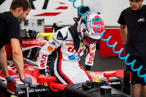 2017 FIA Formula 2 Round 5. Red Bull Ring, Spielberg, Austria. Thursday 6 July 2017. Alexander Albon (THA, ART Grand Prix).  Photo: Zak Mauger/FIA Formula 2. ref: Digital Image _56I0197