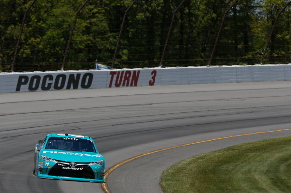 NASCAR XFINITY Series Pocono Green 250 Pocono Raceway, Long Pond, PA USA Friday 9 June 2017 Kyle Benjamin, Hisense Toyota Camry World Copyright: Matthew T. Thacker LAT Images ref: Digital Image 17POC1mt1173