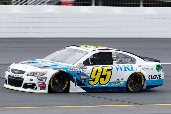 Monster Energy NASCAR Cup Series Overton's 301 New Hampshire Motor Speedway, Loudon, NH USA Friday 14 July 2017 Michael McDowell, Leavine Family Racing, WRL General Contractors Chevrolet SS World Copyright: Matthew T. Thacker LAT Images