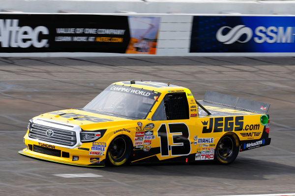 NASCAR Camping World Truck Series Drivin? For Linemen 200 Gateway Motorsports Park, Madison, IL USA Saturday 17 June 2017 Cody Coughlin, JEGS Toyota Tundra World Copyright: Russell LaBounty LAT Images