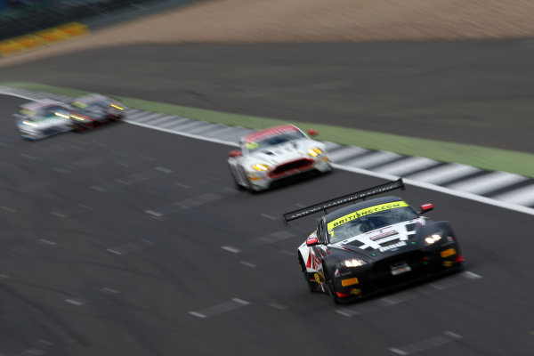 2017 British GT Championship, Silverstone, 11th-12th June 2017, Derek Johnston / Jonny Adam TF Sport Aston Martin Vantage GT3. World copyright. JEP/LAT Images