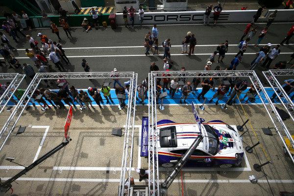 #91 Porsche GT Team Porsche 911 RSR: Richard Lietz, Gianmaria Bruni, Frederic Makowiecki