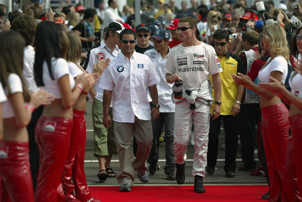 2004 Hungarian Grand Prix - Sunday Race,2004 Hungarian Grand Prix Budapest, Hungary. 15th August 2004 World Copyright: Steve Etherington/LAT Photographic ref: Digital Image Only