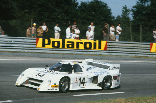 1982 Le Mans 24 hours. Le Mans, France. 19th - 20th June 1982. Jeff Wood / Eje Elgh / Patrick Neve (March 82G Chevrolet), retired, action.  World Copyright: LAT Photographic. Ref: 82LM31.