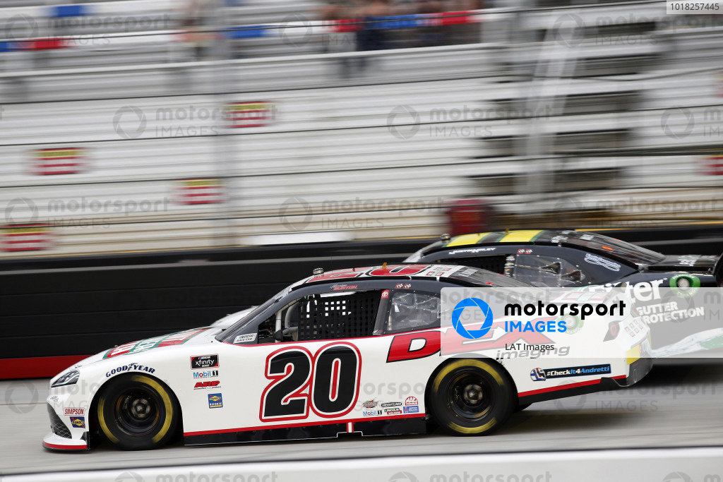 #20: Harrison Burton, Joe Gibbs Racing, Toyota Supra Hunt Brothers Pizza/DEX Imaging