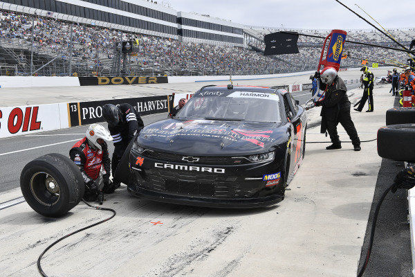 #74: Mike Harmon, Mike Harmon Racing, Chevrolet Camaro The Journey Home Project/Charlie Daniels
