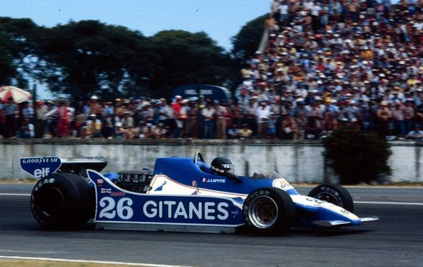 1979 Argentinian Grand Prix.Buenos Aires, Argentina.19-21 January 1979.Jacques Laffite (Ligier JS11 Ford) 1st position.World Copyright - LAT Photographic