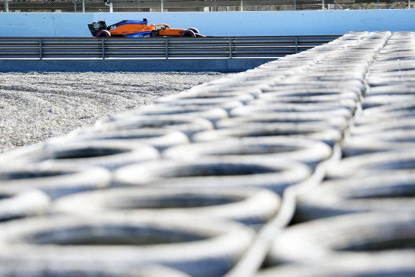 Carlos Sainz, McLaren MCL35 Barcelona test 2020