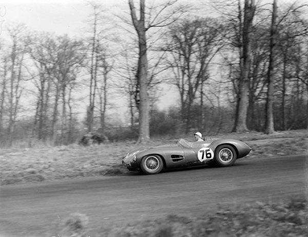 Stirling Moss, Aston Martin DBR2, David Brown (Aston Martin) Ltd.