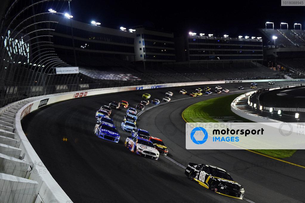Alex Bowman, Hendrick Motorsports Chevrolet ChevyGood.com/NOCO leads Copyright Jared C. Tilton/Getty Images