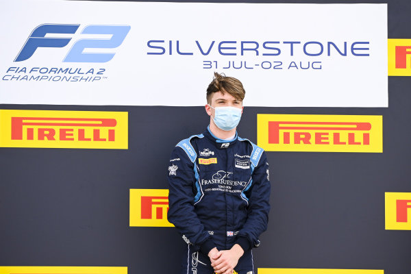 Race winner Dan Ticktum (GBR, DAMS) on the podium