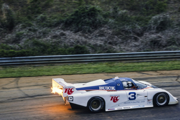 Ken Madren / Wayne Pickering, Royal Crown Cola, March 84G Buick.