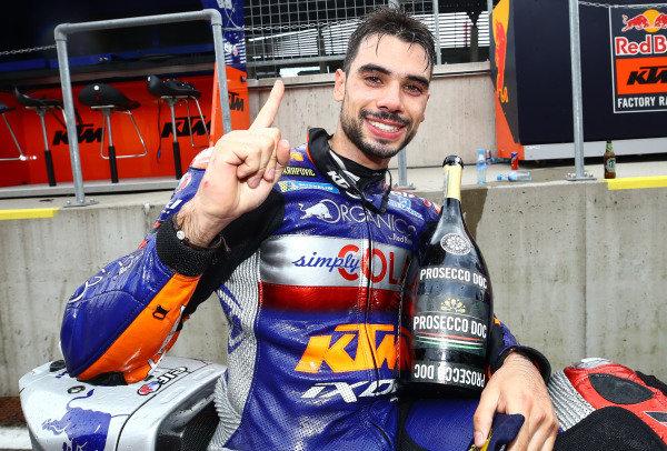 Race winner Miguel Oliveira, Red Bull KTM Tech 3.