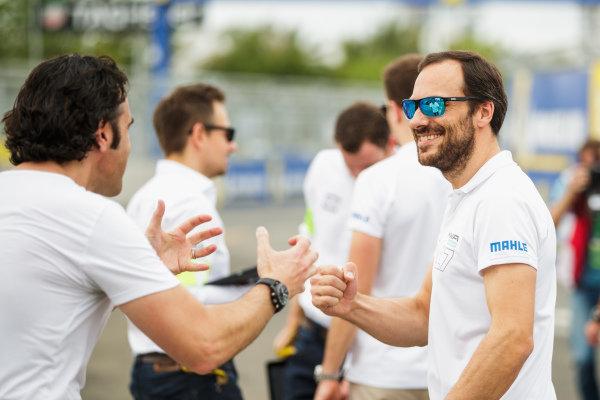 Gary Paffett (GBR), HWA Racelab with Dario Franchitti.
