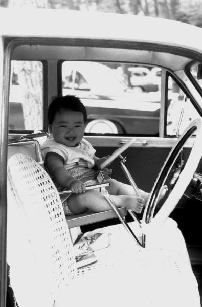 A young Taki Inoue (JPN), DOB 5 September 1963.Formula One Drivers Childhood PhotographsCatalogue Ref.: 15-157Sutton Motorsport Images Catalogue