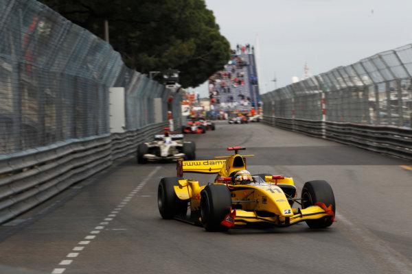 Monte Carlo, Monaco. 15th May 2010. Saturday Race.Jerome D'Ambrosio (BEL, Dams). Action. Photo: Andrew Ferraro/GP2 Media Service.Ref: _Q0C7514 jpg