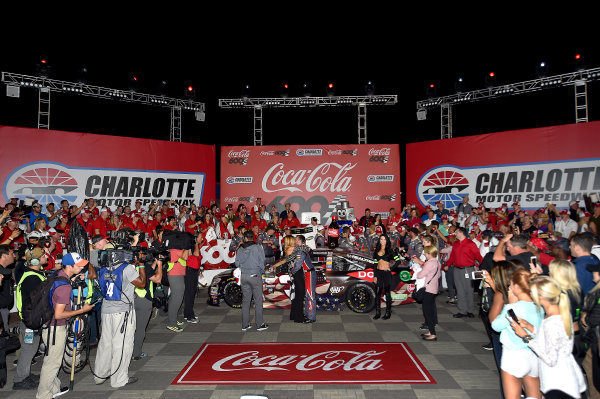 Monster Energy NASCAR Cup Series Coca-Cola 600 Charlotte Motor Speedway, Concord, NC USA Monday 29 May 2017 Austin Dillon, Richard Childress Racing, Dow Salutes Veterans Chevrolet SS World Copyright: Rusty Jarrett LAT Images ref: Digital Image 17CLT2rj_10454