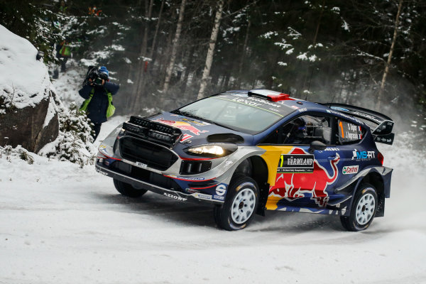 2017 FIA World Rally Championship, Round 02, Rally Sweden, February 09-12, 2017, Sebastien Ogier, Ford, Action Worldwide Copyright: McKlein/LAT