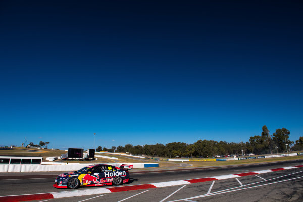 2017 Supercars Championship Round 4.  Perth SuperSprint, Barbagallo Raceway, Western Australia, Australia. Friday May 5th to Sunday May 7th 2017. Jamie Whincup drives the #88 Red Bull Holden Racing Team Holden Commodore VF. World Copyright: Daniel Kalisz/LAT Images Ref: Digital Image 050517_VASCR4_DKIMG_1218.JPG