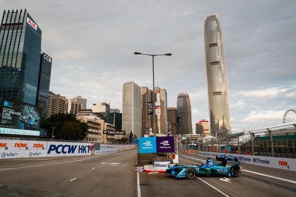 2017/2018 FIA Formula E Championship. Round 1 - Hong Kong, China. Saturday 02 December 2017. Kamui Kobayashi (JAP), MS + AD Andretti Formula E, Andretti ATEC-03. Photo: Sam Bloxham/LAT/Formula E ref: Digital Image _J6I3791