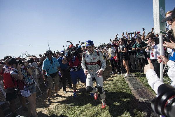 Daniel Abt (DEU), Audi Sport ABT Schaeffler heads to the podium