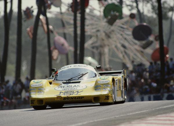 Henri Pescarolo / Klaus Ludwig, New-Man Joest Racing, Porsche 956B.