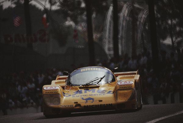 Walter Lechner / Franz Hunkeler / Manuel Reuter, Camel Brun Motorsport, Porsche 962 C.